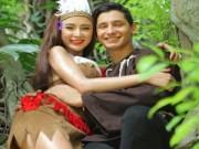 Làng sao - Angela Phương Trinh hóa công chúa da đỏ gợi cảm