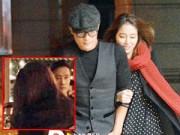 Hậu trường - Lộ ảnh vợ chồng Lee Byung Hun vui vẻ ăn tối tại Mỹ