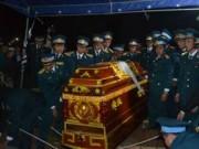 Máy bay rơi tại TP.HCM: Đón chiến sĩ hi sinh về với đất mẹ
