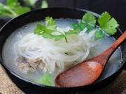Bếp nhà tôi  - Súp cá chép củ cải bổ dưỡng