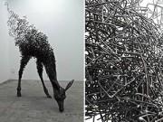 Xem & Đọc - Những tác phẩm điêu khắc kinh ngạc làm từ kim loại