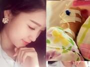 Làng sao sony - Á hậu Huyền My nằm viện khiến fan lo lắng
