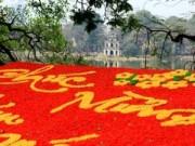 Tin tức - Hà Nội đón Tết Nguyên đán trong mưa rét