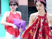 Thời trang Sao - Sao Việt quyến rũ lạ thường với áo yếm