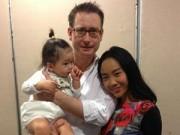 Làng sao - Đoan Trang đón sinh nhật ấm áp cùng chồng con