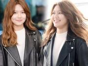 Làng sao - Sooyoung (SNSD) lộ mặt béo ú vì tăng cân