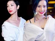 Thời trang - Học sao Việt biến tấu sơ mi trắng siêu sáng tạo