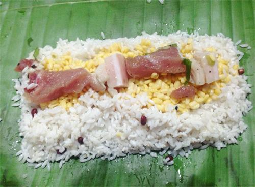 Image result for goi banh tet