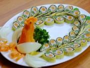 Bếp Eva - Chả phượng đẹp lung linh cho mâm cỗ ngày Tết