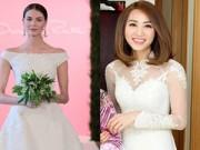 Thời trang - Ngân Khánh diện váy cưới gần 200 triệu đồng trong hôn lễ