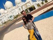 """Làng sao - Đoan Trang và chồng đi """"trăng mật muộn"""" ở Dubai"""