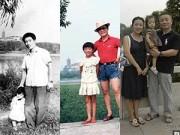 Làm mẹ - Cảm động cha và con gái chụp ảnh cùng một chỗ suốt 35 năm