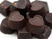 Bếp Eva - Làm socola Valentine hình trái tim cực đơn giản