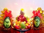 Mẹo hay nhà bếp - Cách xếp mâm ngũ quả của người miền Trung