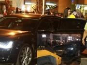 Làng sao - Xe ô tô Hà Hồ đâm nhiều người trọng thương ở sân bay