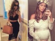 Bà bầu - Ghen tỵ với vòng eo sau sinh 1 tháng của siêu mẫu Úc