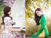 Làm đẹp - Rạng ngời nhan sắc mùa xuân của Hoa hậu, Á hậu Việt Nam