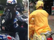 """Thời trang - Cười té ghế với những """"quái xế"""" đường phố Việt"""