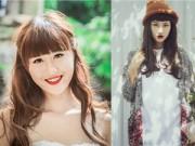 Nhân vật đẹp - Hot girl Hà Lade tranh thủ làm tóc đón Tết
