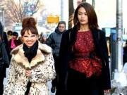 Thời trang - Quỳnh Paris mời Mâu Thuỷ ghi hình ở New York