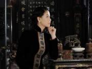 Hậu trường - Hoa hậu Hà Kiều Anh thướt tha trong tà áo dài