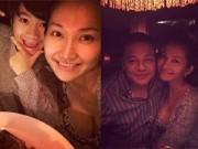 Hậu trường - Kim Hiền bụng bầu hạnh phúc bên chồng và con trai