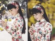 """Thời trang - Á hậu Diễm Trang đẹp nền nã """"khó cưỡng"""" với áo dài"""
