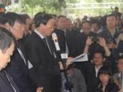 Tin tức - Điếu văn xúc động tiễn biệt ông Nguyễn Bá Thanh