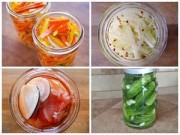 Thực đơn – Công thức - 4 món rau củ ngâm chua ngon giải ngán cho Tết