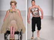 Thời trang - Mẫu khuyết tật đổ bộ lên sàn diễn New York FW
