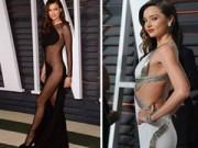 Thời trang - Những bộ cánh gợi cảm lùm xùm tại Oscar 2015