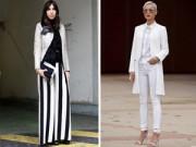 Thời trang công sở - Mách nữ công sở cách mặc quần cao lên tức thì
