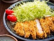 Bếp Eva - Thịt lợn tẩm bột nướng giòn kiểu Nhật