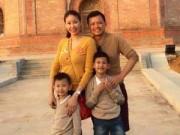 Làng sao - Hà Kiều Anh hạnh phúc du xuân cùng chồng, con