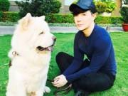 Ảnh đẹp Eva - Nathan Lee tiết lộ tình yêu dành cho cún cưng