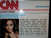 Làng sao - Fan giật mình trước tin đồn Beyoncé qua đời