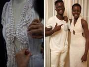 Thời trang - Chiếc váy 6000 viên ngọc trai của Lupita Nyong'o bị mất cắp