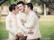 Chuyện tình yêu - Đám cưới đồng tính 3 người siêu đặc biệt ở Thái Lan