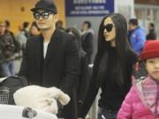 Hậu trường - Huỳnh Hiểu Minh và Angela Baby đi nghỉ tuần trăng mật sớm