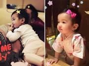 Dạy con - Con gái Jennifer Phạm càng lớn nét càng đẹp như tranh