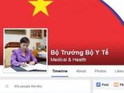 Y tế - Bộ trưởng Tiến công khai facebook tiếp nhận phản ánh của dân