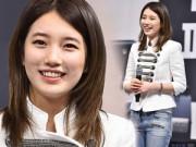 Hậu trường - Suzy (Miss A) lộ mặt béo tròn vì tăng cân