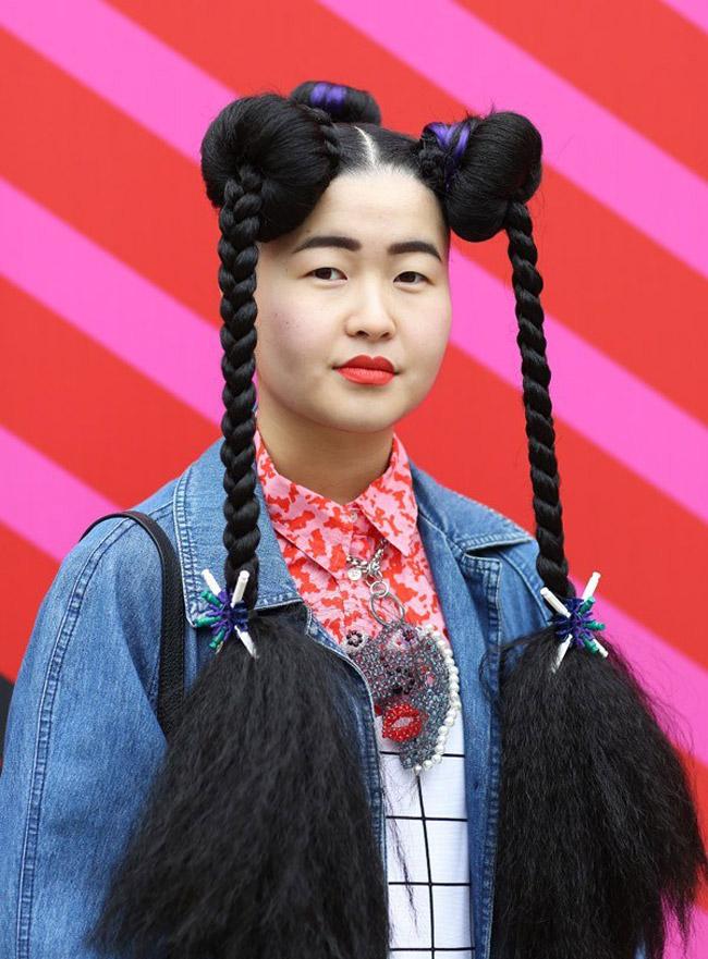 Những kiểu tóc có lẽ rất khó để bắt gặp ở Việt Nam.