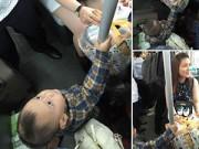Dạy con - Bức xúc vì hot girl không nhường ghế xe bus cho bé 2 tuổi
