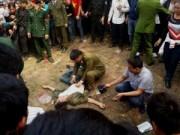 Tin trong nước - Hội Lim: Uống rượu đánh đu, 1 người ngã gãy tay