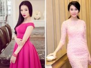 """Thời trang - Sao Việt """"làm nũng"""" với trang phục màu hồng"""