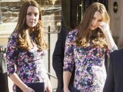 Hậu trường - Công nương Kate lộ vẻ mệt mỏi khi mang bầu tháng cuối