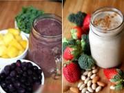 Giảm cân - 10 loại sinh tố giảm cân có hiệu quả không ngờ