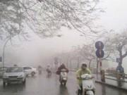 Tin trong nước - Cuối tuần, miền Bắc mưa nhỏ, mưa phùn và sương mù