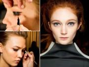 Trang điểm - Kiểu trang điểm giúp đôi mắt to tròn hơn